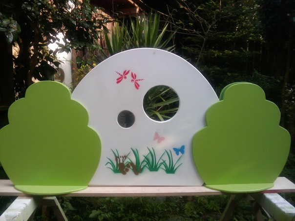 Children's Play Area Partition - Forest Theme